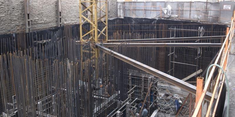 عایق کاری گود ساختمان