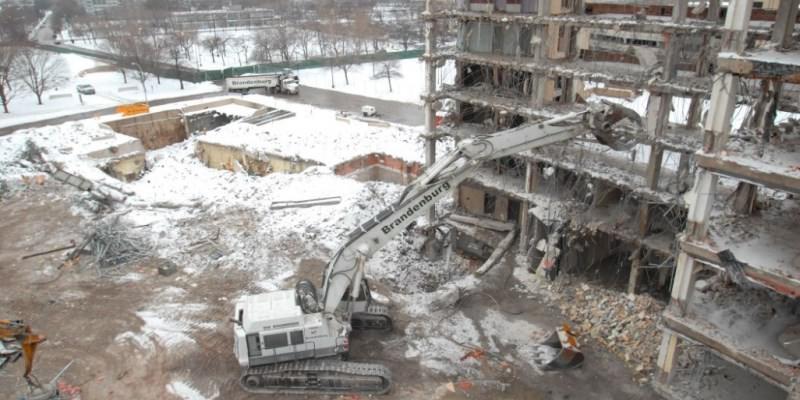 انواع-تخریب-ساختمان