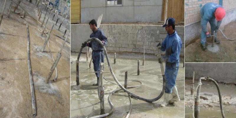 بهسازی خاک به روش تزریق