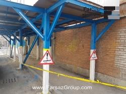 تجهیز کارگاه پروژه ساختمانی از تخریب تا اجرای اسکلت