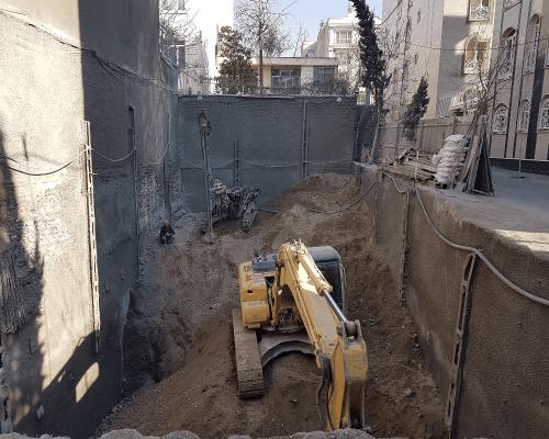 پروژه مسکونی خیابان چیذری دروس