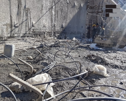 بهسازی خاک پروژه دیپلمات